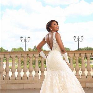 Stunning V-Back wedding Dress!